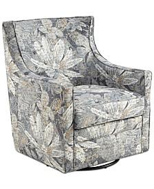 Alana Swivel Glider Chair, Quick Ship
