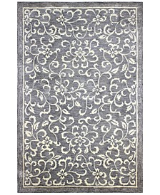 "Downtown HG325 Gray 8'6"" x 11'6"" Area Rug"