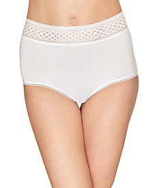 Wacoal Women's Subtle Beauty Geometric Brushed Lace Brief 870350