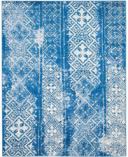 Safavieh Adirondack Silver and Blue 6' x 9' Area Rug