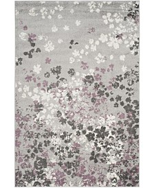 Safavieh Adirondack Light Gray and Purple 4' x 6' Area Rug