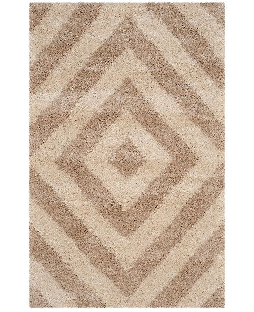 "Safavieh Portofino Ivory and Beige 5'1"" x 7'6"" Area Rug"