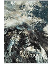 "Safavieh Glacier Blue and Multi 2'7"" x 5' Area Rug"