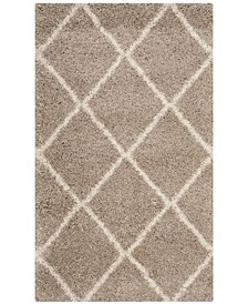 Hudson Beige and Ivory 3' x 5' Area Rug