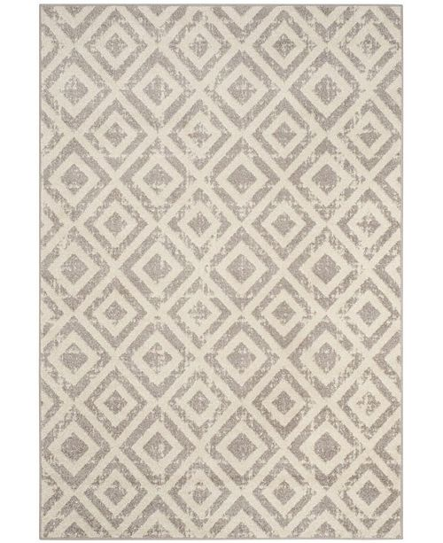 "Safavieh Amsterdam Ivory and Mauve 5'1"" x 7'6"" Area Rug"