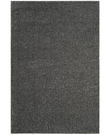 Safavieh Arizona Shag Dark Gray 4' x 6' Sisal Weave Area Rug