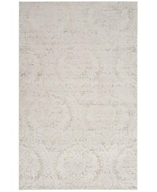 Safavieh Princeton Silver and Beige 8' x 10' Area Rug