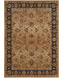 "Safavieh Summit Beige and Dark Gray 6'7"" x 9'2"" Area Rug"