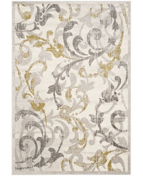 Safavieh Amherst Ivory and Light Gray 10' x 14' Area Rug