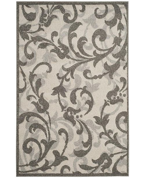 Safavieh Amherst Ivory and Gray 5' x 8' Area Rug