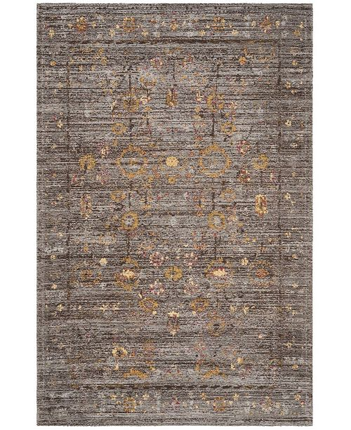 Safavieh Classic Vintage Gray and Gold 5' x 8' Area Rug