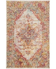 "Safavieh Crystal Cream and Rose 6'7"" x 9'2"" Area Rug"