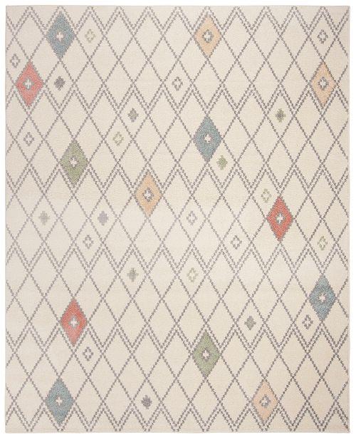 Safavieh Adirondack Ivory and Multi 6' x 9' Area Rug