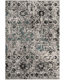 Safavieh Adirondack Gray and Black 6' x 9' Area Rug