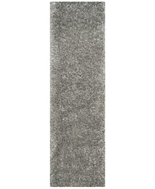 "Polar Silver 2'3"" x 12' Runner Area Rug"