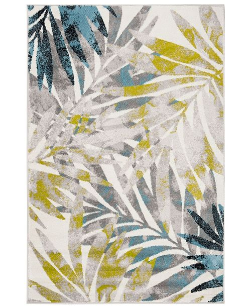 Safavieh Skyler Gray and Green 4' x 6' Area Rug
