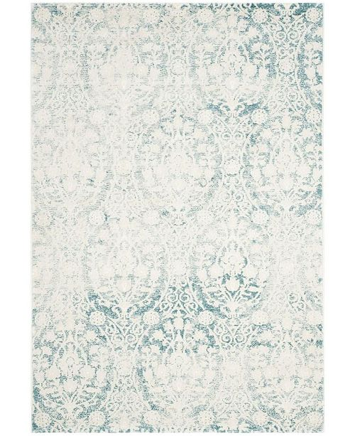 Safavieh Passion Turquoise and Ivory 10' x 14' Area Rug