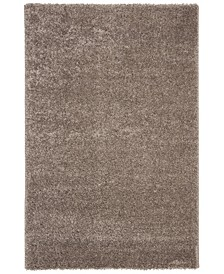 """Solo Brown 6'7"""" x 6'7"""" Round Area Rug"""