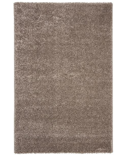 "Safavieh Solo Brown 6'7"" x 6'7"" Round Area Rug"