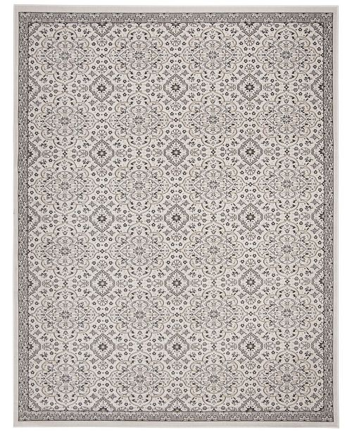 Safavieh Montage Ivory and Gray 9' x 12' Area Rug