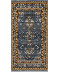 Safavieh Classic Vintage Blue and Gold 6' x 9' Area Rug