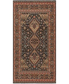 Safavieh Classic Vintage Black and Rust 6' x 9' Area Rug