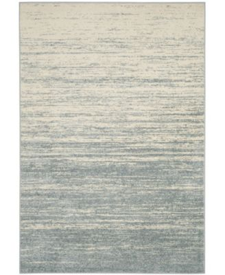 Adirondack Slate and Cream 10' x 14' Area Rug