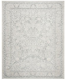 Safavieh Reflection Light Gray and Cream 9' x 12' Area Rug