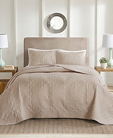 Oakley Full/Queen 3 Piece Bedspread Set