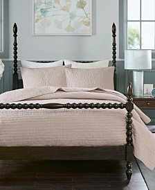 Madison Park Signature Serene King 3 Piece Cotton Hand Quilted Coverlet Set