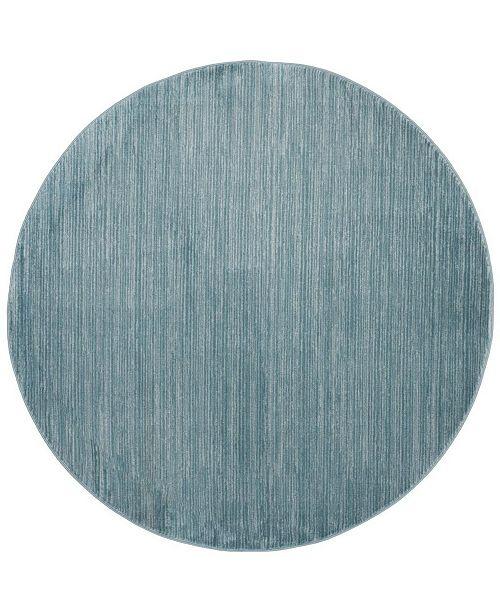 Safavieh Vision Aqua 5' x 5' Round Area Rug