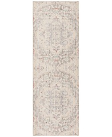 Safavieh Windsor Light Gray and Ivory 3' x 10' Area Rug