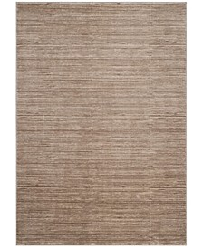 """Vision Light Brown 6'7"""" x 6'7"""" Square Area Rug"""
