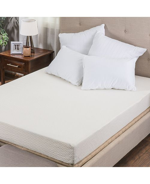 "Om Basic 8"" Medium Firm Mattress - Twin XL, Quick Ship, Mattress in a Box"