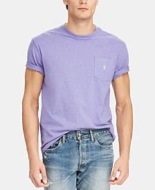Polo Ralph Lauren Men's Big & Tall Classic Fit  Pocket T-Shirt