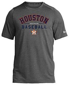 New Era Houston Astros Poly Performance T-Shirt, Big Boys (8-20)