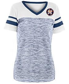 5th & Ocean Women's Houston Astros Space Dye Back T-Shirt