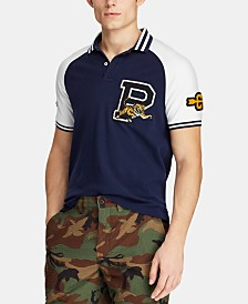 Polo Ralph Lauren Men's Big & Tall Classic Fit Varsity Mesh Polo