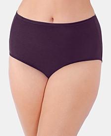 Women's Illumination® Plus Size Satin-Trim Brief Underwear 13811