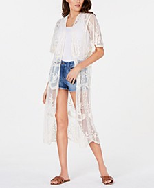 INC Lace Long Kimono, Created for Macy's
