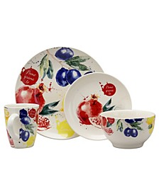 Tuscan Amore 16 Piece Dinnerware Set
