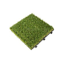 Artificial Grass Deck Tile, 6 Piece Set