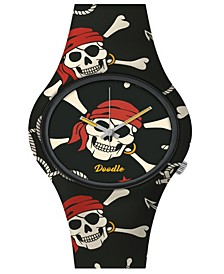 Doodle Watch Pirate Skull