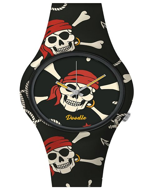 Doodle Watches Doodle Watch Pirate Skull