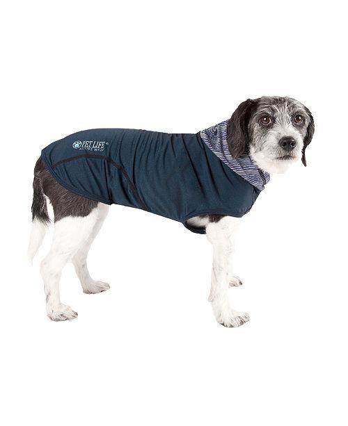 Pet Life Central Pet Life 'Pull-Rover' Premium Performance Sleeveless Dog T-Shirt Tank Top Hoodie