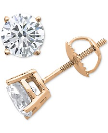 Diamond Stud Earrings (1/6 ct. t.w.) in 10k Gold, White Gold or Rose Gold