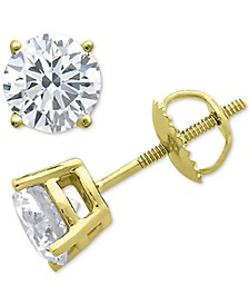 Diamond Stud Earrings (1/10 ct. t.w.) in 10k Gold, White Gold or Rose Gold