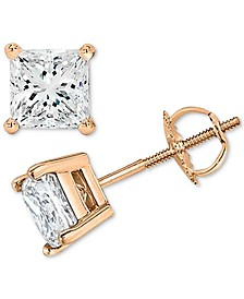 Diamond Stud Earrings (1/5 ct. t.w.) in 10k Gold, White Gold or Rose Gold
