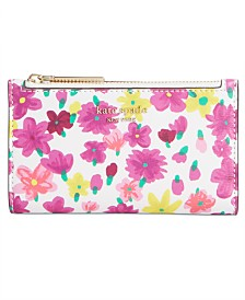 kate spade new york Sylvia Floral Bifold Wallet