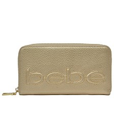Bebe Bailey Zip Around Wallet